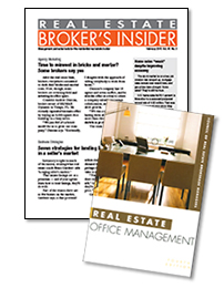 Real Estate Broker's Insider Newsletter